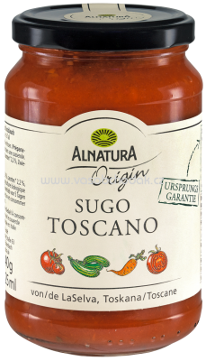 Alnatura Origin Sugo Toscano, 325 ml