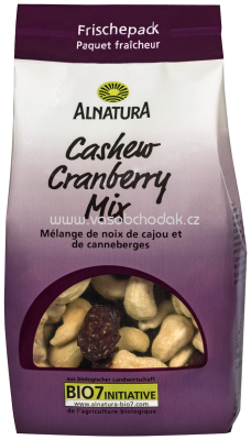 Alnatura Cashew Cranberry Mix, 150g