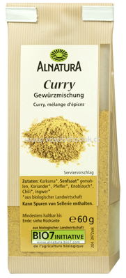 Alnatura Curry 60 g