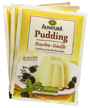 Alnatura Vanillepudding, 3er-Pack 120 g