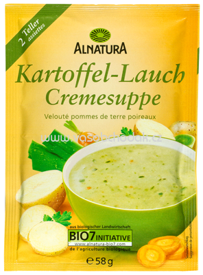 Alnatura Kartoffel-Lauch-Suppe 58 g