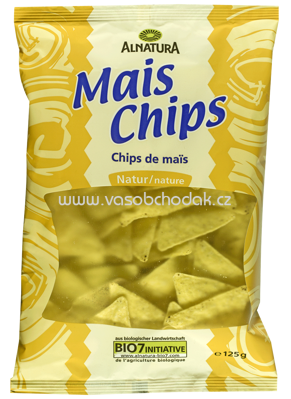 Alnatura Mais Chips natur 125 g