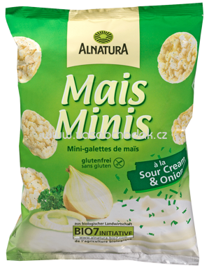 Alnatura Mais-Minis á la Sour Cream & Onion 50 g