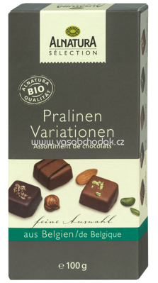 Alnatura Sélection Pralinen Variationen 100 g
