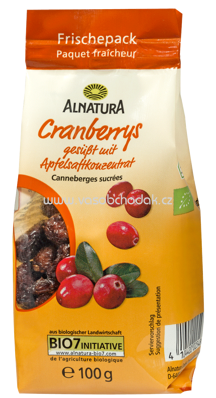 Alnatura Cranberries 100 g