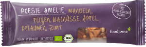 foodloose riegel Poesie Amelie, 35 g