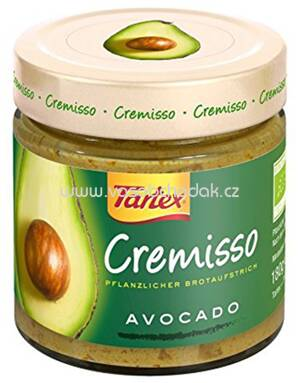 Tartex Cremisso Avocado 180g
