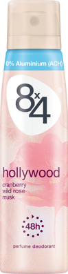 8x4 women Deo Spray Deodorant Hollywood, 150 ml