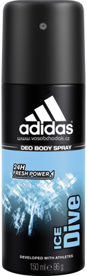 adidas Deospray Ice Dive, 150 ml