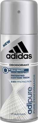 adidas Men Deo Spray Adipure, 150 ml