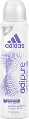 adidas Women Deo Spray Adipure, 150 ml