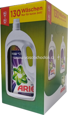 Ariel Color Gel Actilift Power+, 2x3,575 l, 130 Wl