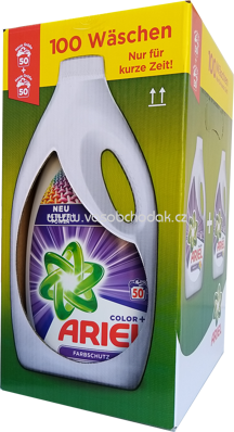 Ariel Color Gel Actilift Power+, 2x2,75 l, 100 Wl