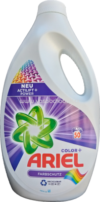 Ariel Color Gel Actilift Power+, 2,75 l, 50 Wl