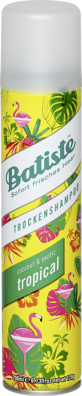 batiste Trockenshampoo Tropical, 200 ml