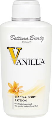 Bettina Barty Hand & Bodylotion Vanilla, 0,5 l