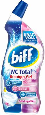 Biff Wc Total Reiniger Gel Frülingsblüte, 750 ml