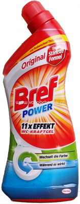 Bref Power Wc Kraftgel Original, 1l