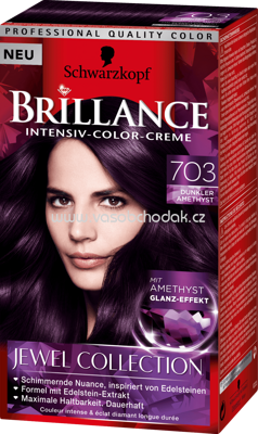 Brillance Coloration 703 dunkler Amethyst Jewel Collection