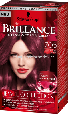Brillance Coloration 705 dunkler Rubin Jewel Collection