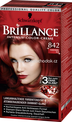 Brillance Coloration 842 Kaschmirrot