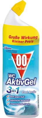 00 WC Aktiv Gel 3in1 Cool Arctic, 750 ml