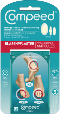 Compeed Blasenpflaster Mixpack, 5 St