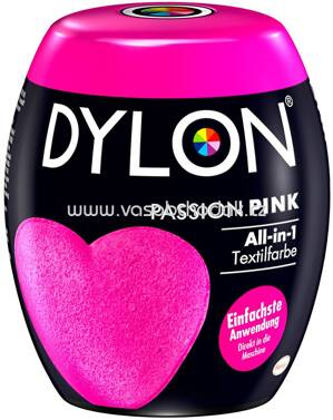 Dylon Textilfarbe All-in-1 Passion Pink, 1 St