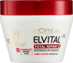 Elvital Haarkur Intensiv-Maske Total Repair 5, 300 ml