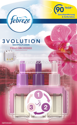 Febreze 3Volution Duftstecker NF Thai Orchidee, 20 ml