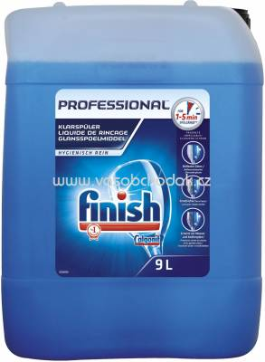 Finish Professional Calgonit Klarspüler 5x Power, 9 l