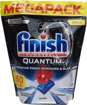 Finish Megapack Spülmaschinentabs Quantum Ultimate, 60 St