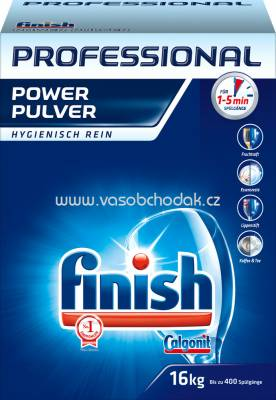 Finish Professional Calgonit Power Pulver, 16 kg