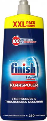 Finish XXL Klarspüler Glanz- & Glasschutz, 1150 ml