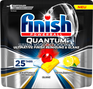 Finish Spülmaschinentabs Quantum Ultimate Citrus, 25 St