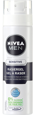 NIVEA MEN Rasiergel Sensitive, 200 ml