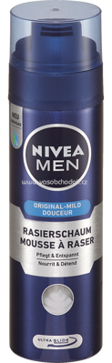 NIVEA MEN Rasierschaum Original Mild, 200 ml
