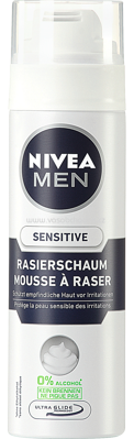 NIVEA MEN Rasierschaum Sensitive, 200 ml