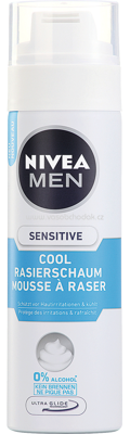 NIVEA MEN Rasierschaum Sensitive Cool, 200 ml