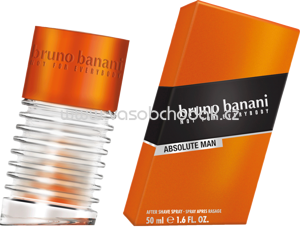 Bruno Banani Absolute man After Shave, 50 ml