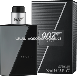 James Bond 007 Seven After Shave Lotion Spray, 50 ml