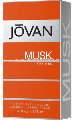 Jovan Musk for man After Shave, 118 ml