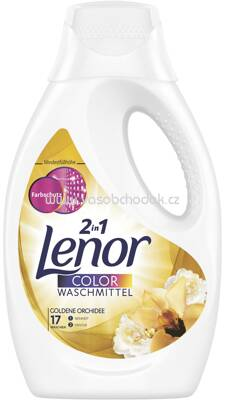 Lenor Color Gel 2in1 Goldene Orchidee, 1,155l, 21 Wl