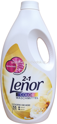 Lenor Color Gel 2in1 Goldene Orchidee, 3,025 l, 55 Wl