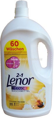 Lenor Color Gel 2in1 Goldene Orchidee, 3,3 l, 60 Wl