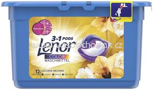 Lenor Colorwaschmittel 3in1 PODS Goldene Orchidee, 15 Wl