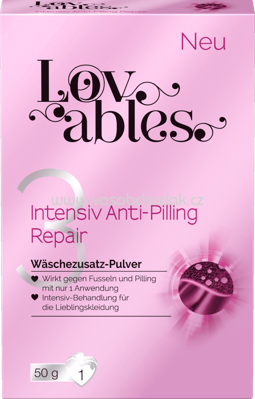 Lovables Wäschezusatz-Pulver Intensiv Anti-Pilling Repair, 1 Wl