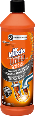 Mr. Muscle Rohrreiniger Drano Power-Gel, 1 l