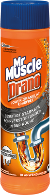 Mr. Muscle Rohrreiniger Drano Power-Granulat, 500 g