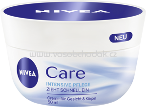 NIVEA Pflegecreme Care, 50 ml